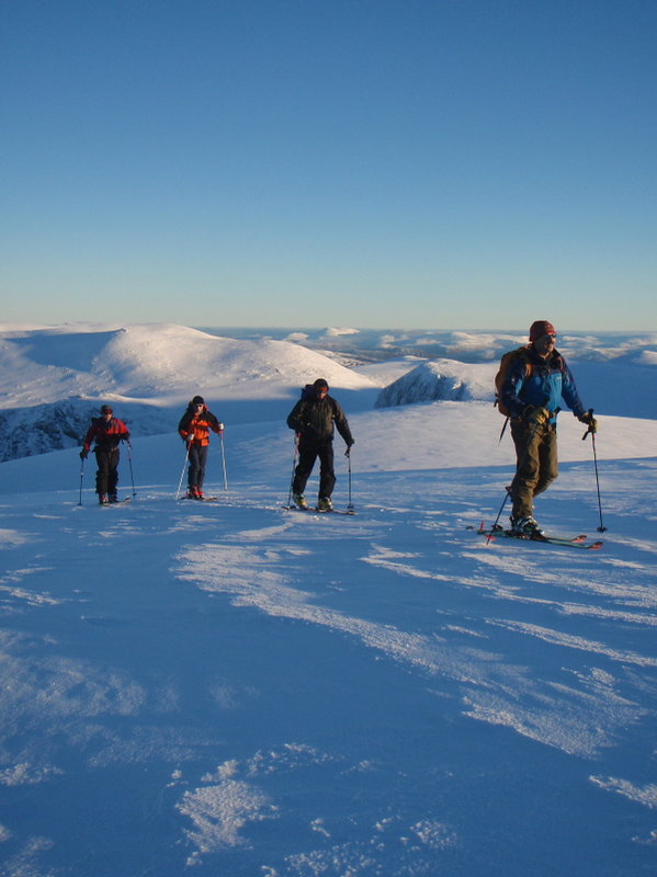Cairngorms ski mountaineering, 78 kb