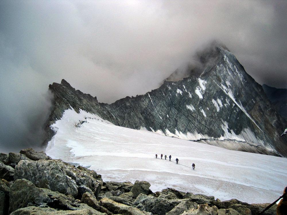 Mont Blanc de Cheilon, Arolla, Switzerland., 189 kb