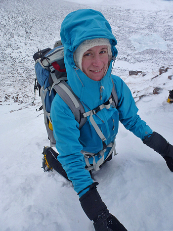 Sarah Stirling Testing the Rab Stretch Neo in Coire an t Schneachda, 179 kb