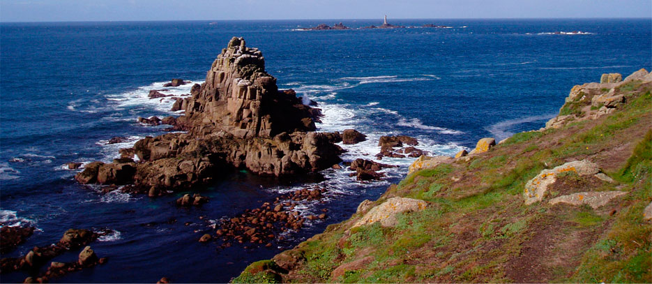 The beautiful coastline near the Beacon of Hope Project in Cornwall., 129 kb