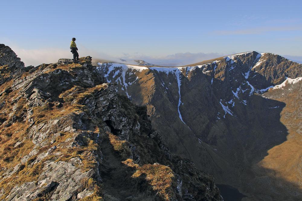 Seana Bhraigh from the Creag an Duine ridge, 173 kb