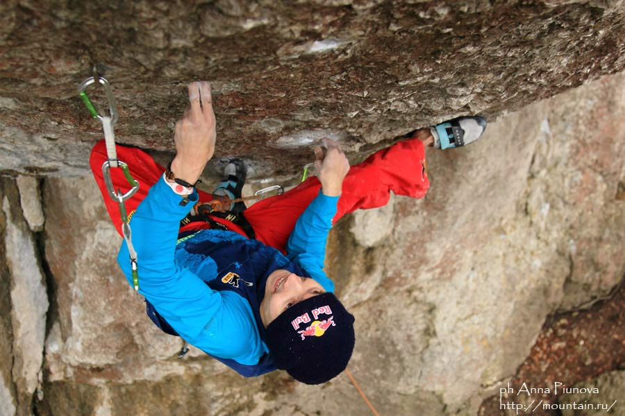 Rustam Gelmanov on Action Direct, 9a, Waldkopff, Frankenjura, 86 kb