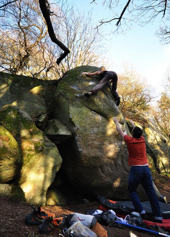 Mina Leslie-Wujastyk climbing PreperationH, Hepburn (Font 8A), 211 kb