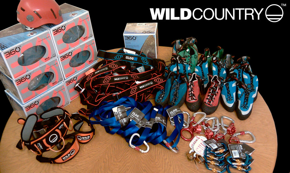 Wild Country Gear for the Hope Project, 166 kb