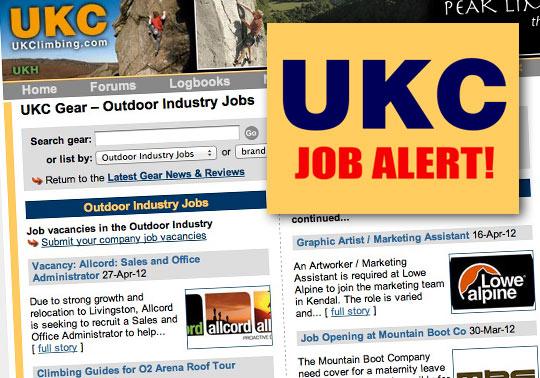 UKC Job Page Montage image, 77 kb