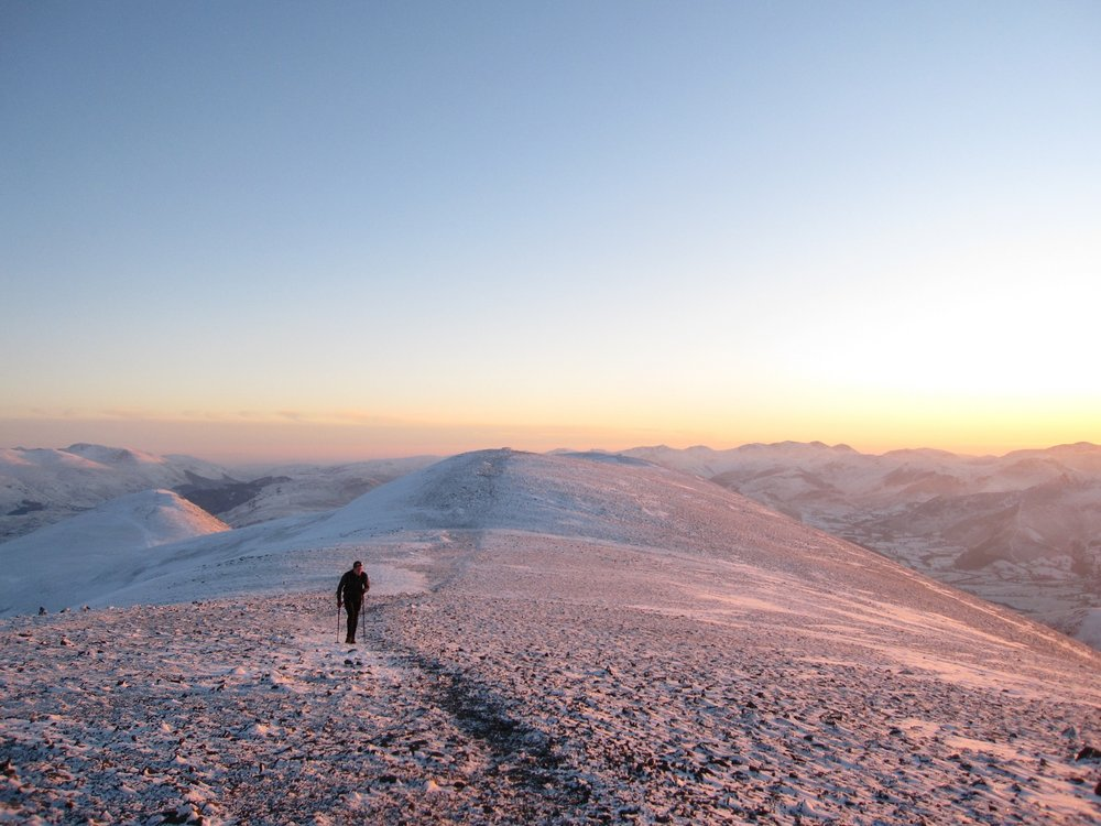 Running up Skiddaw, 122 kb