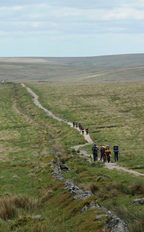 Teams on last year's Ten Tors , 140 kb