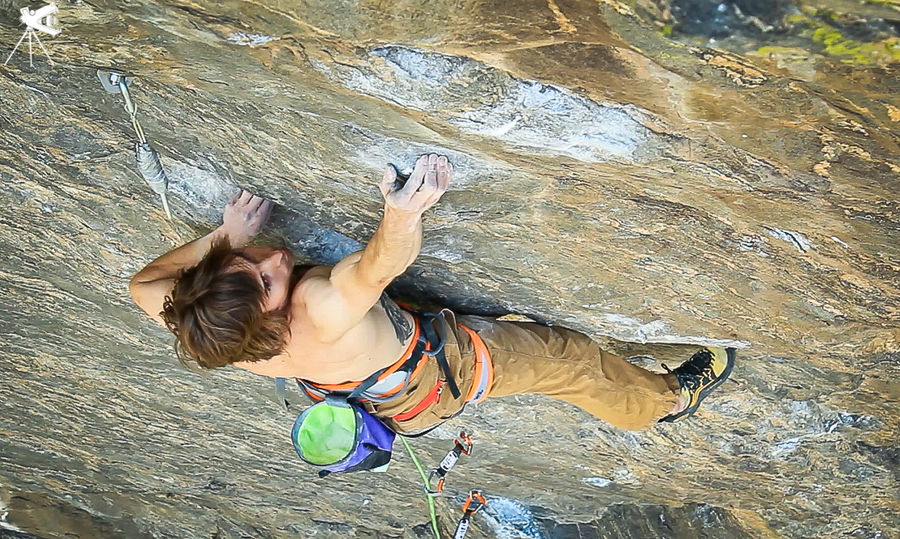 Daniel Woods on Mission Impossible, 9a, Clear Creek Canyon, 194 kb