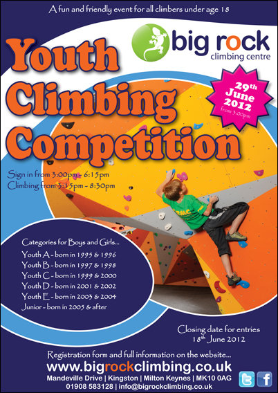 Youth Climbing Competition at Big Rock: 29th June #1, 117 kb
