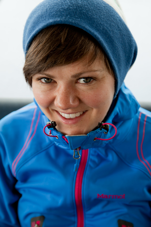 Heather Swift in the Marmot Vapor Trail Hoody, 173 kb