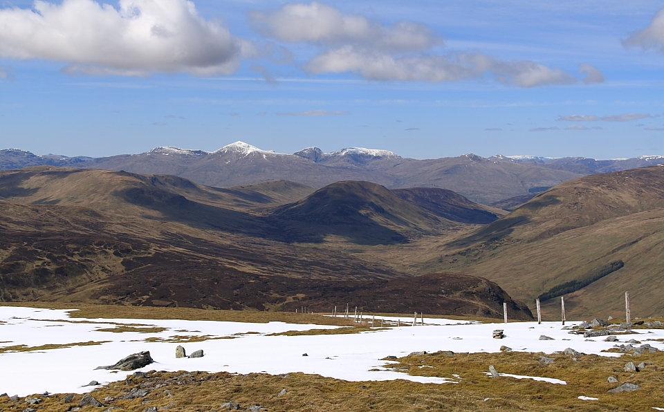Ben Lawers and Co from Ben Chonzie , 125 kb