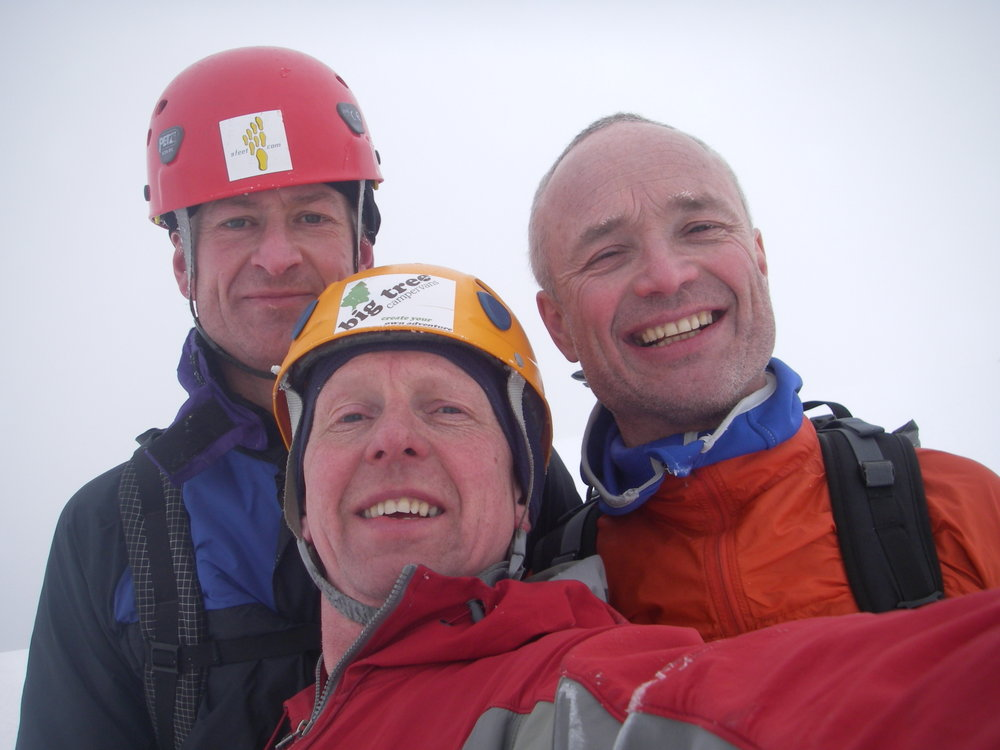 Pictured from the left:  Paul Figg, Simon Yearsley and Malcolm Bass, 92 kb