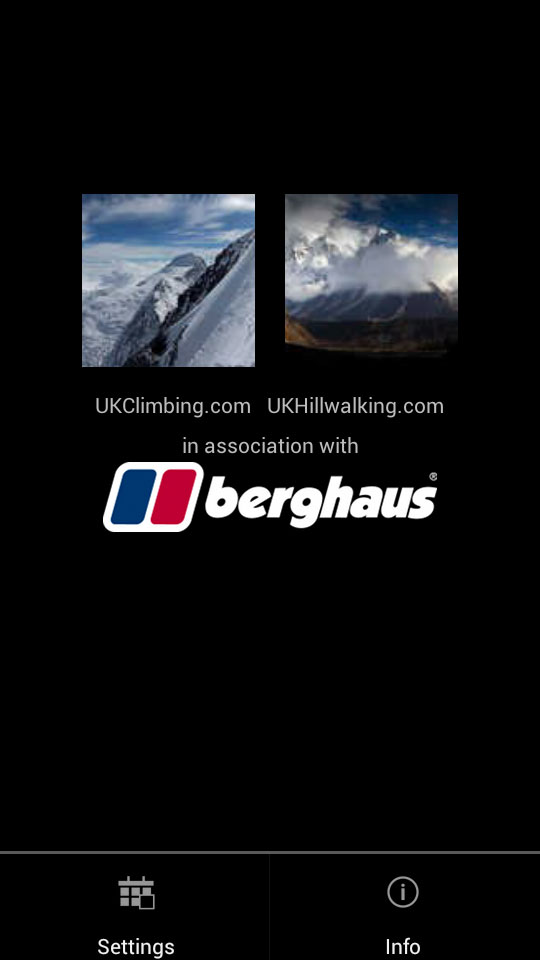 UKC Top Photos App: Home Screen, 34 kb
