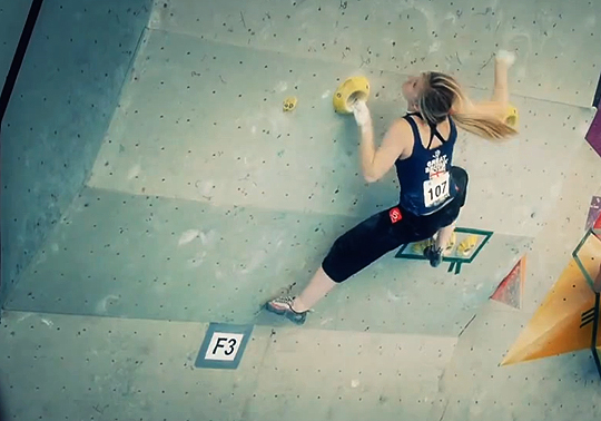 Shauna Coxsey competing at Innsbruck 2012, 138 kb