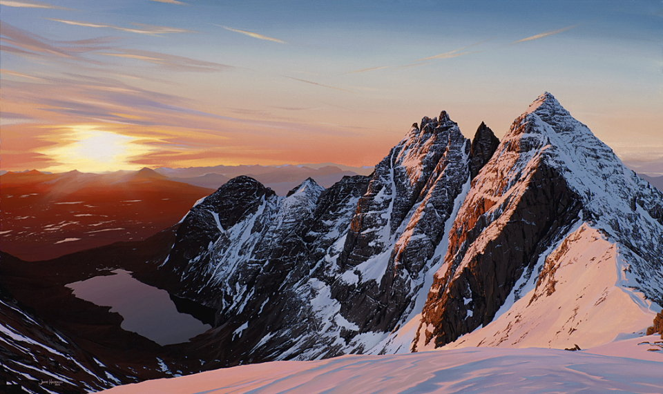 An Teallach Sunrise 2012, 126 kb