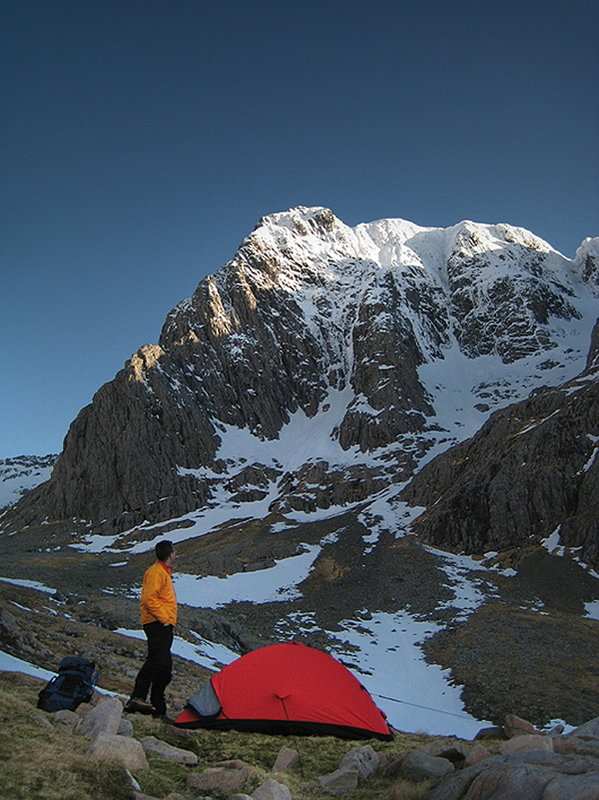 Camping on a research trip, Ben Nevis, 115 kb