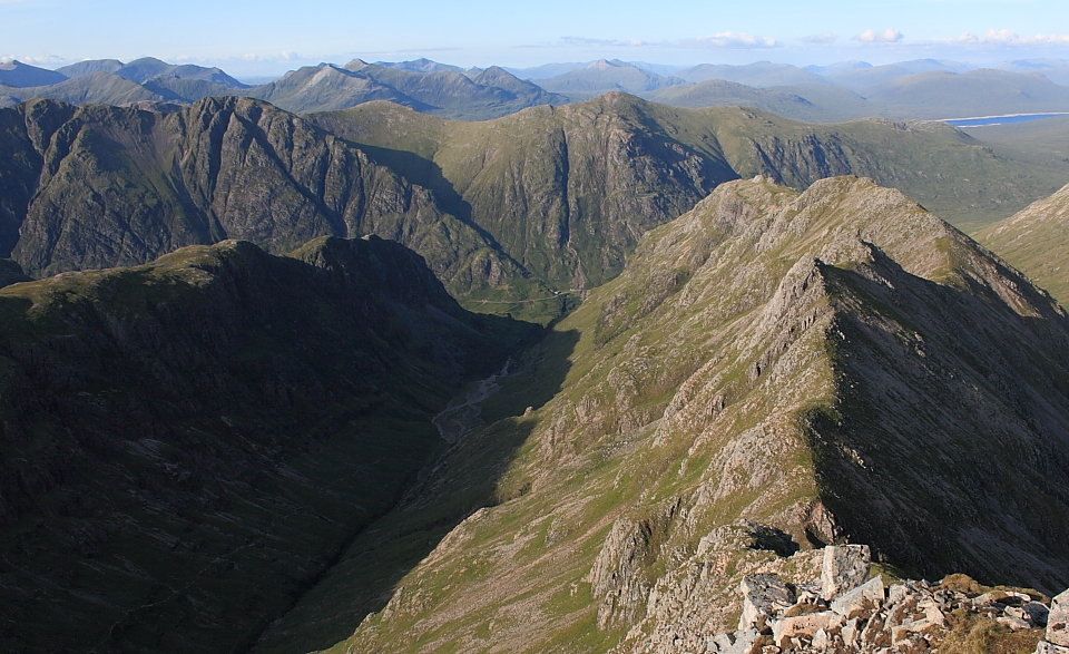 Coire Gabhail from above, 148 kb