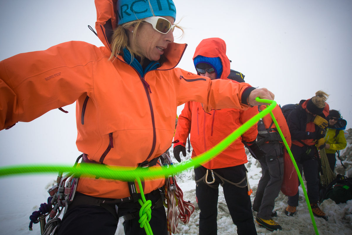 70 Alpinists took part in a unique educational event at the premier ARC�TERYX ALPINE ARC�ADEMY  #4, 171 kb