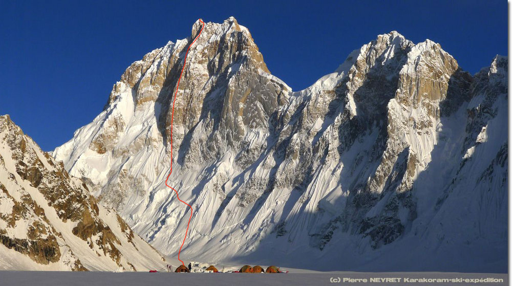 Herve Barmasse Sets Off to Climb The North Face Of Karakorum�s �Ogre�  #1, 172 kb