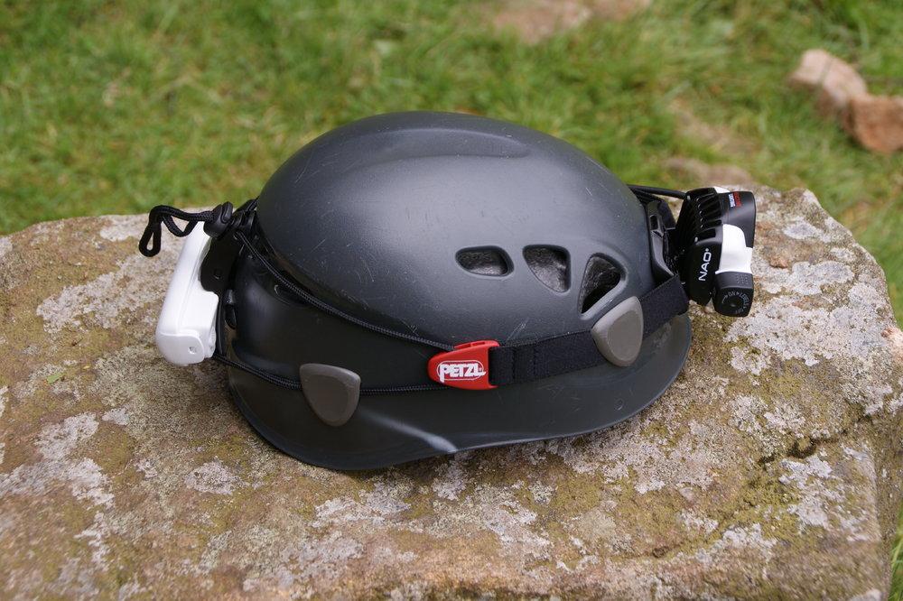 The Petzl Nao on a Petzl Elios helmet, 192 kb