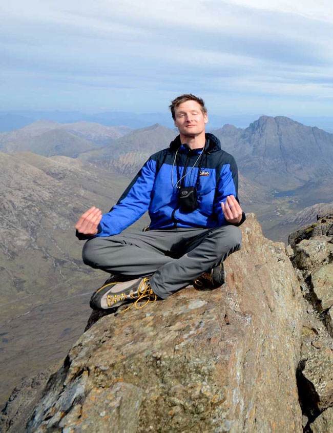Dan Bailey on the Cuillin Ridge, 118 kb