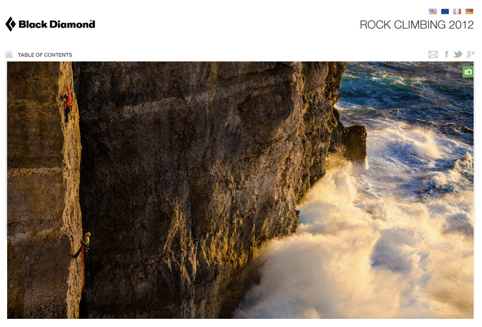 Black Diamond Digital Climbing Catalogue 2012, 169 kb