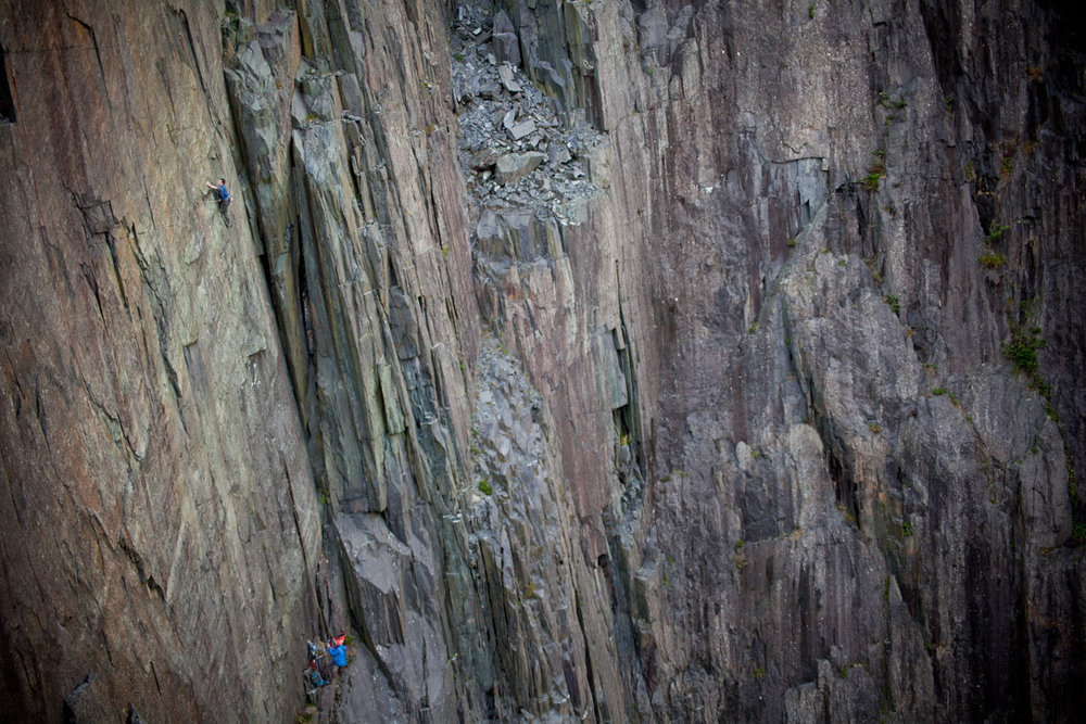 James McHaffie on 'The Meltdown' - The UK's hardest slab route, and possibly 9a, 210 kb