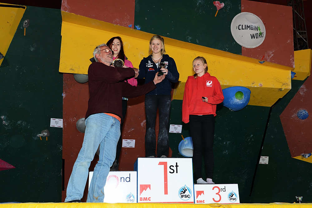 IFSC Junior Female Podium, 188 kb