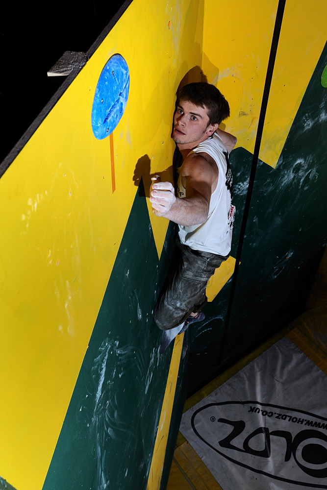 Dave Barrans climbing to first place in the BBCs 2012, 178 kb