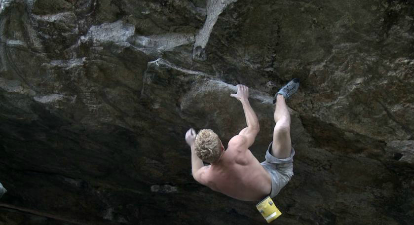 Magnus Midtbö on Blood redemption, 8C, Matre, Norway, 220 kb