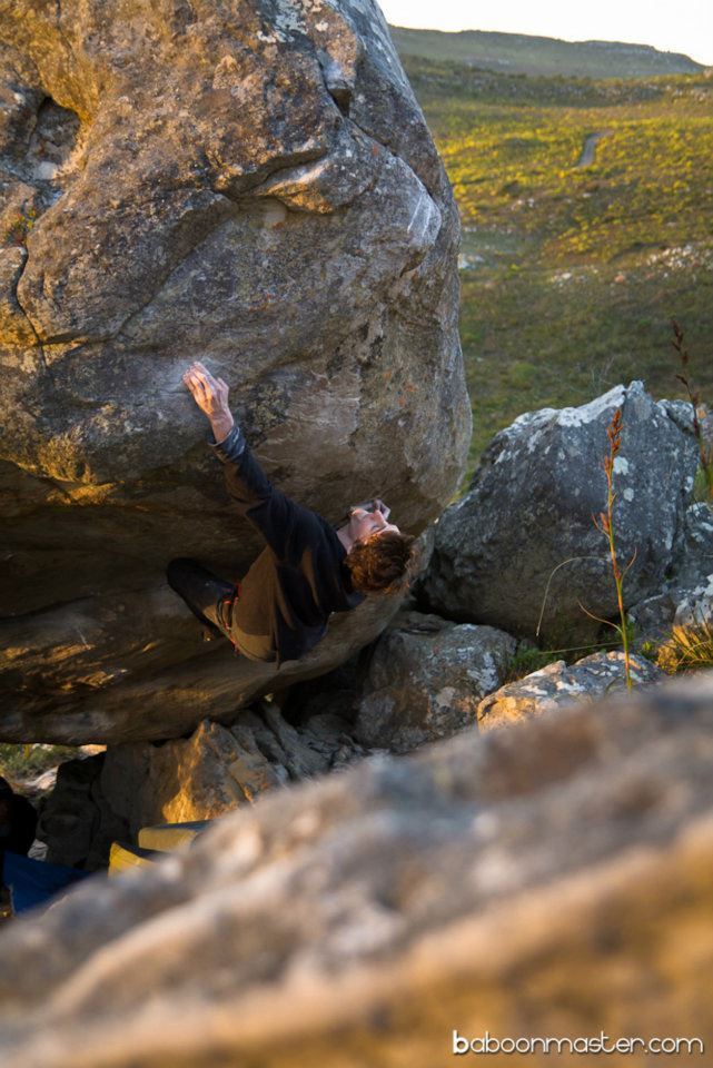 Dave Graham on A simple knowing, 8B+(ish), 105 kb