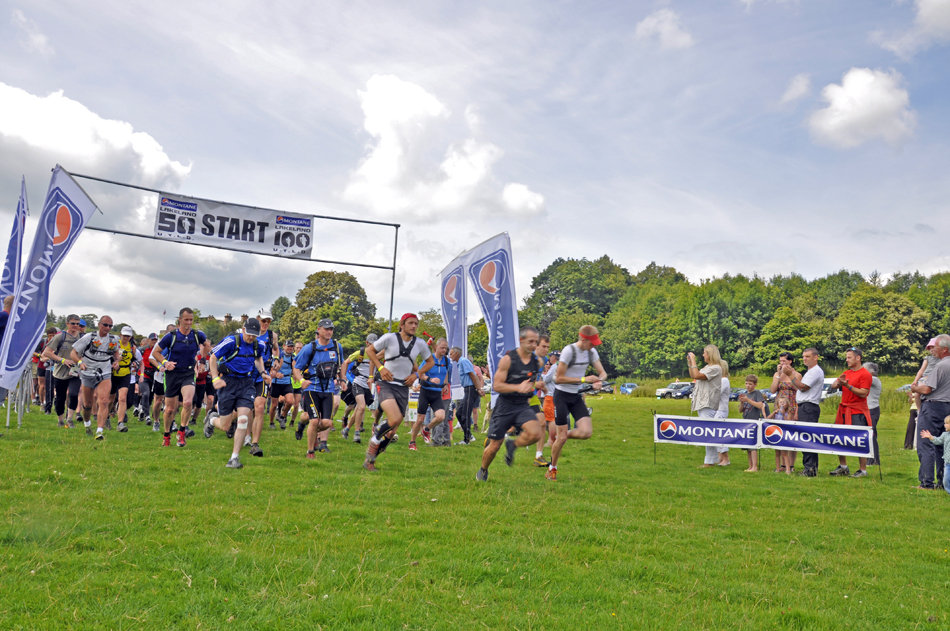 The MONTANE® Lakeland 50 race begins, 2011, 185 kb