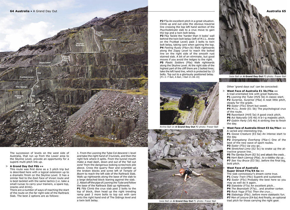 A Grand Day Out, Australia, Llanberis Slate sample spread, 246 kb