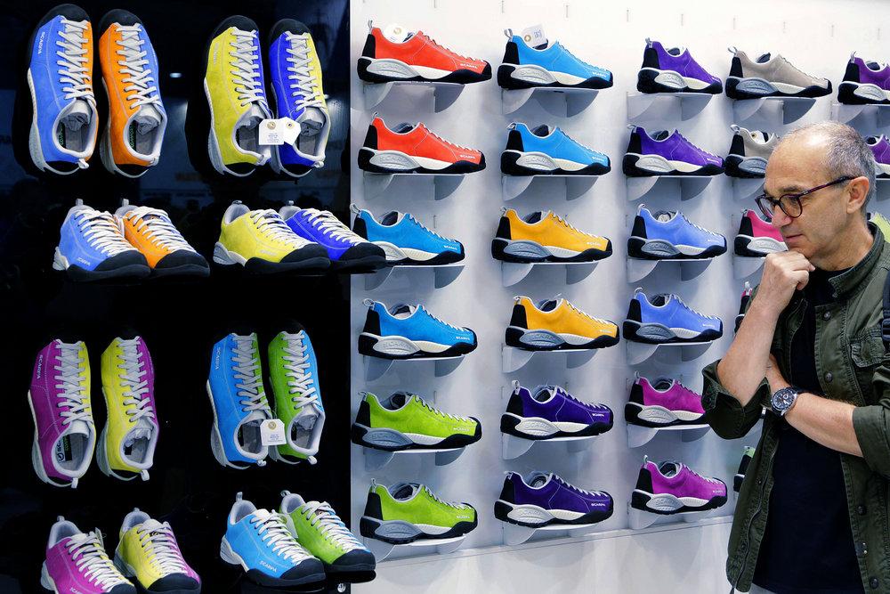 Some Colourful Scarpa Footwear 2012, 228 kb