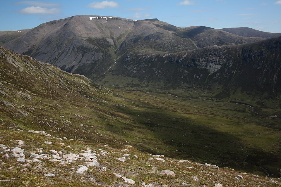 It's not rocket science, but the ability to navigate with a map and compass is worth having on Ben Macdui, 174 kb