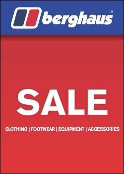 Berghaus End of Season Sale – Now On!, Products, gear, insurance Premier Post, 4 weeks @ GBP 70pw, 20 kb