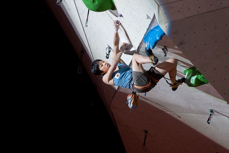 Japanese climber Momoka Oda winning at Imst 2012, 108 kb
