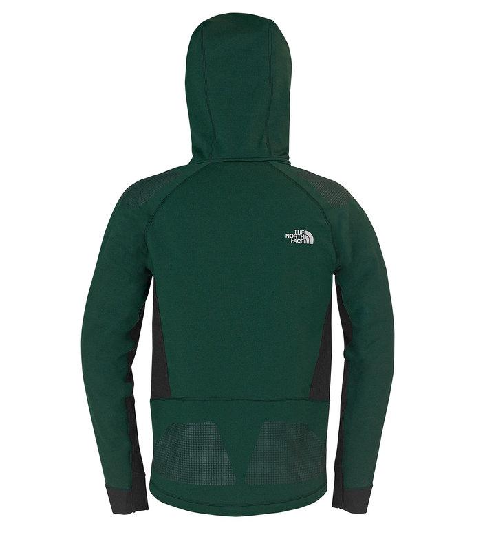 Men's Polar Hooded Jacket - Back, 73 kb