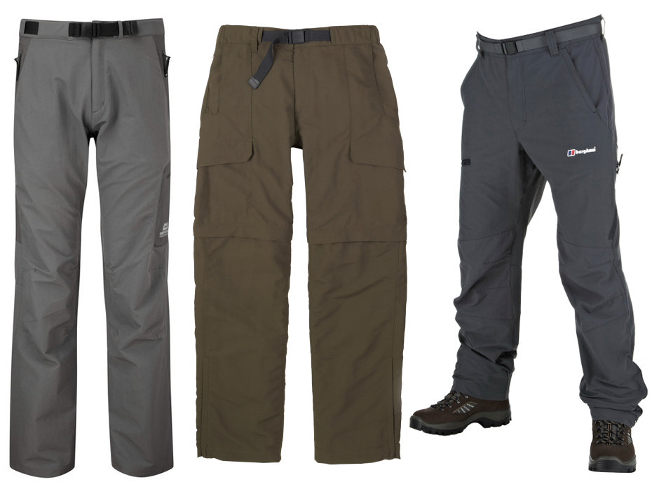 L to R: ME Stretchlite Guide, TNF Paramount Peak, Berghaus Statis Pants, 77 kb