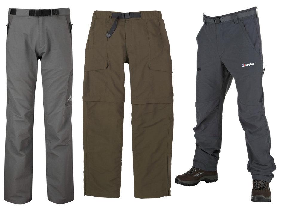 L to R: ME Stretchlite Guide, TNF Paramount Peak, Berghaus Statis Pants, 77 kb