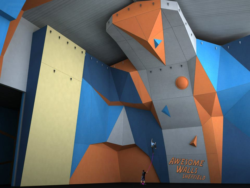 The design for the competition wall at the new Awesome Walls Sheffield, 58 kb
