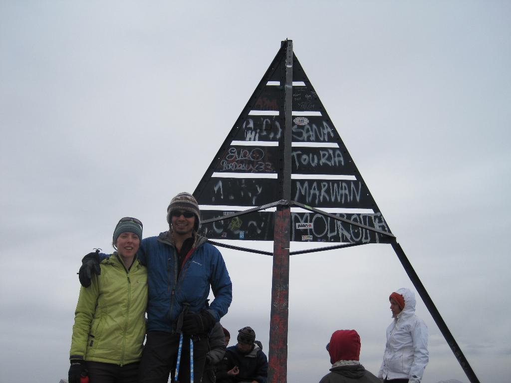 Toubkal Summit - 4167m, 60 kb