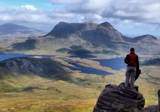Stac Pollaidh.......beautiful scenery in a peaceful and tranquil setting., 59 kb