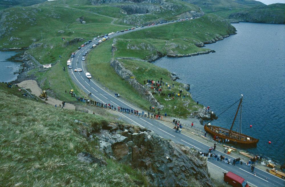 Mavis Grind portage - North Sea to Atlantic., 210 kb