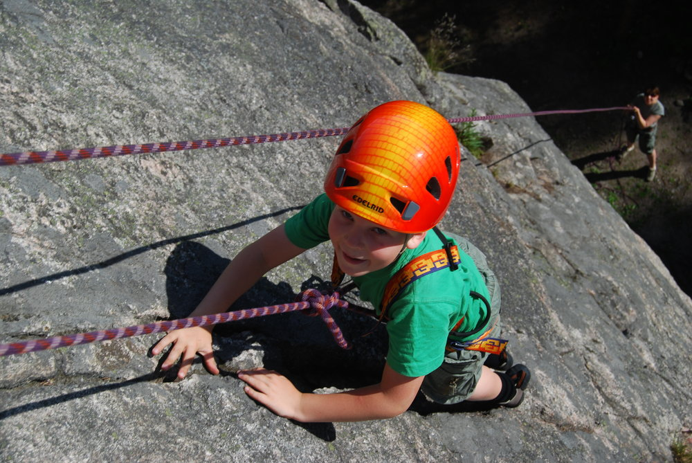 The Edelrid Shield II fits a good range of head sizes! Olli climbing., 197 kb
