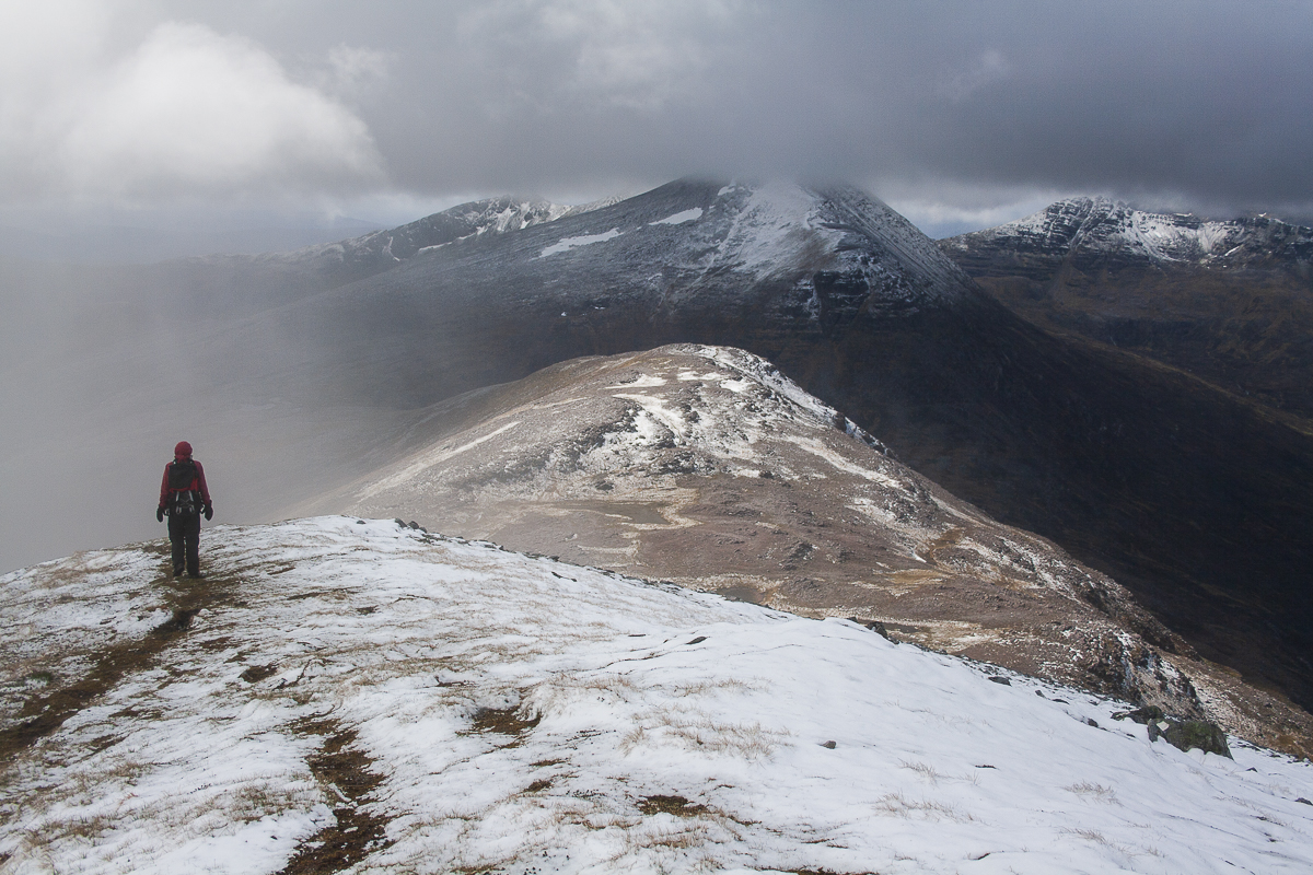 Beinn a' Chlaidheimh, a great hill whatever its height, 115 kb
