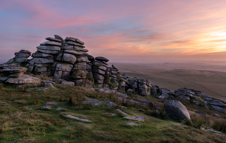Rough Tor on Bodmin Moor, 132 kb