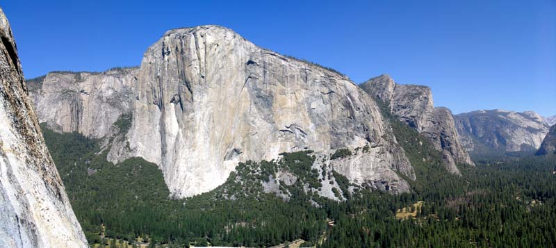 El Capitan and Yosemite Valley, 59 kb