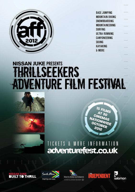 Adventure Film Festival Flyer, 182 kb