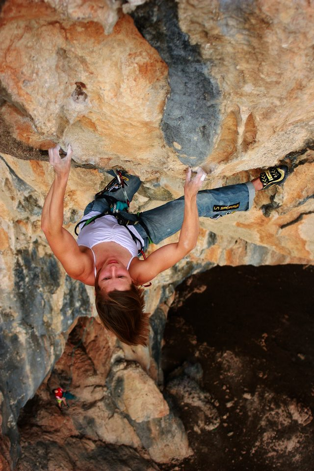 Aleksandra Taistra on Kalliste, 8c, Archidona, Spain, 126 kb